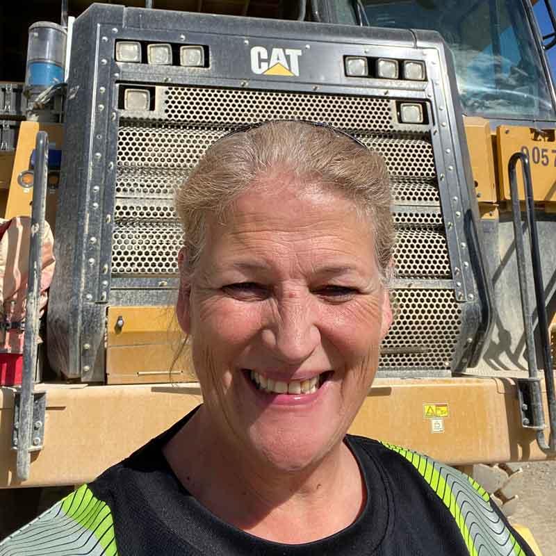 Picture of an Interior Heavy Equipment School alumni, Karen Rathwell